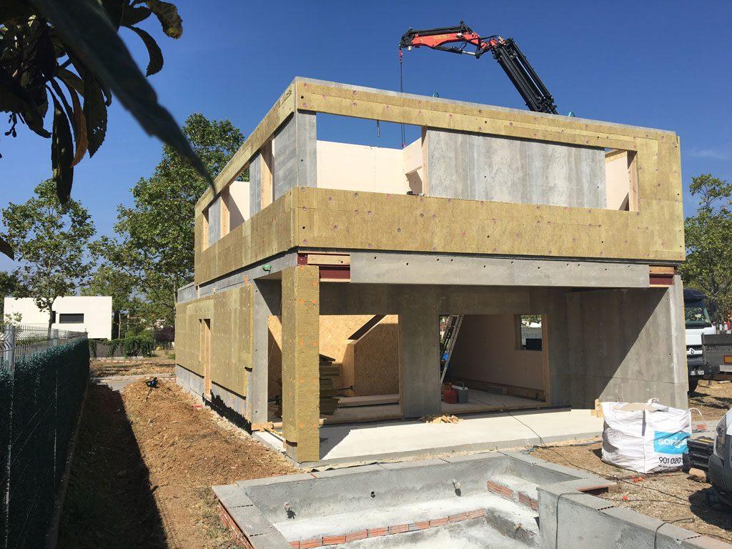 Estructuras y casas prefabricadas de madera conar systems - Estructuras casas de madera ...