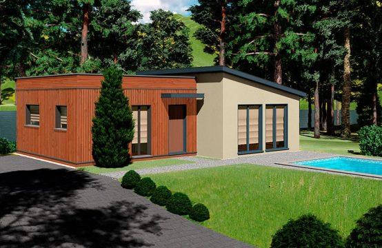 Modelo casa prefabricada Creta